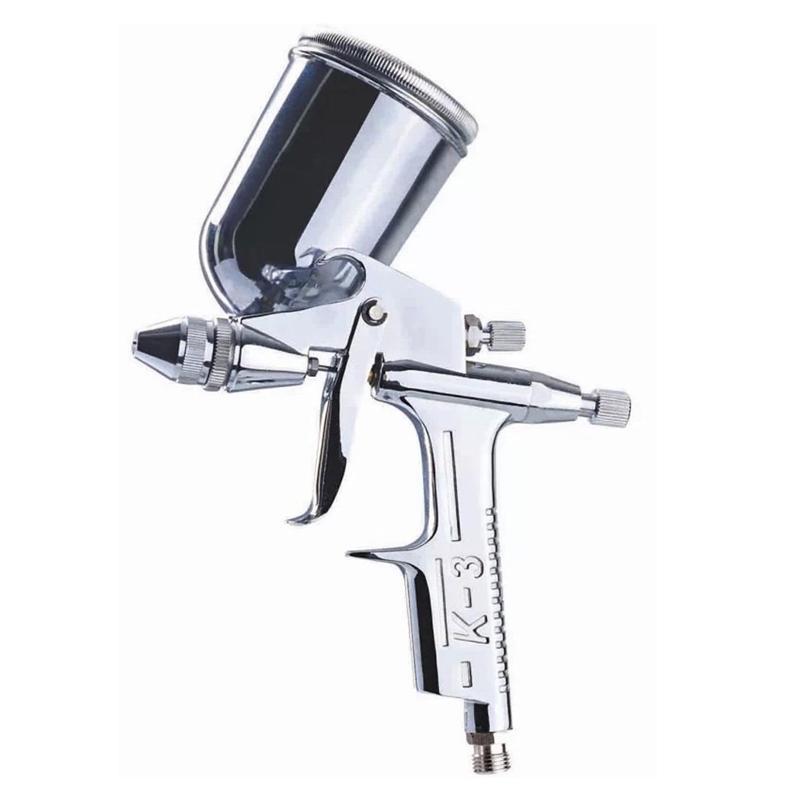 Pistolets de pulvérisation professionnelle 0.5mm mini pinceau air pistolet pulvérisateur d'aérographe de l'aérographe pénien pour la peinture en cuir outil de peinture pistola