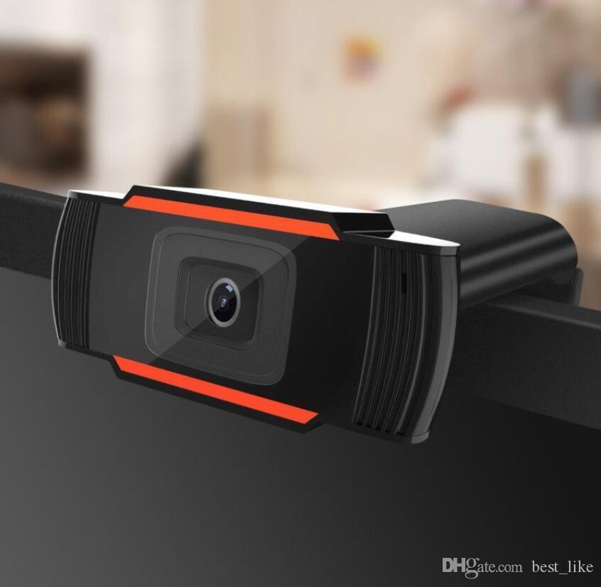 HD Webcam Web Camera 30fps 1080P 720P 480P PC Built-in Sound-absorbing Microphone Video Record For Computer Laptop A870 retail box