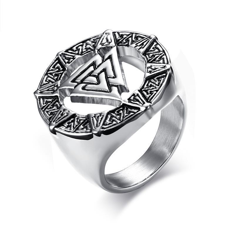 Noenname-null marca personalidade punk anel moda homens mulheres de aço inoxidável vquinal casting hip hop rua jóias anéis de banda