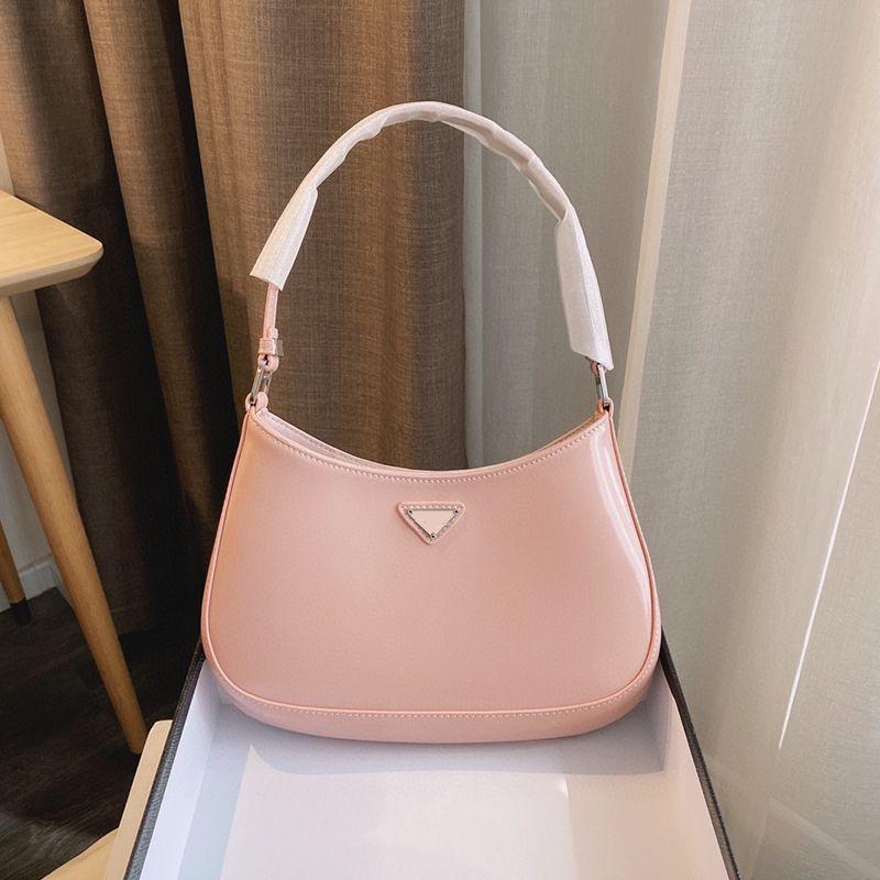 Cleos femmes designers luxurys sac à bandoulière haute qualité cuir classique marque sous-bras sacs 27cm mode dame 2021 sacs en gros
