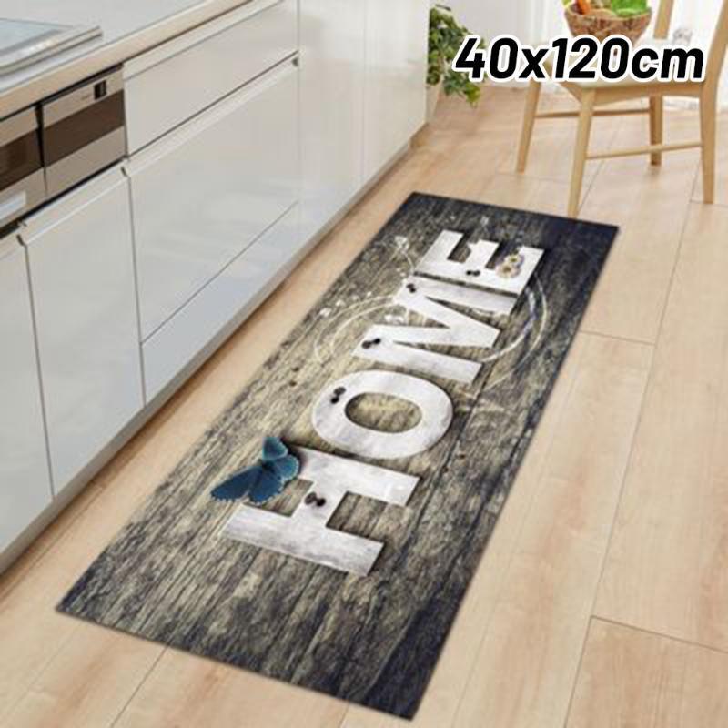 Tapete à prova d'água impermeável do tapete do tapete do tapete do piso do assoalho da casa para a cozinha