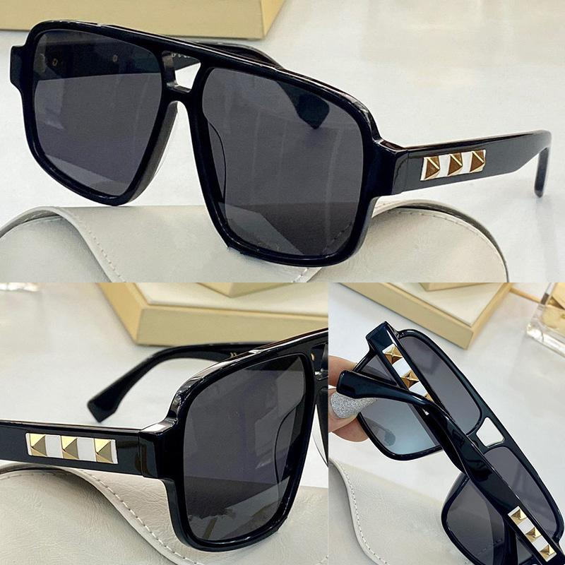 Sunglasses For women Summer style Anti-Ultraviolet 4211 Retro Shield lens Plate Rectangle full frame fashion Eyeglasses Random Box