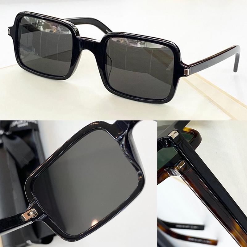 Sunglasses For Men and Women Summer style Anti-Ultraviolet Retro Square Plate Full Frame fashion Eyeglasses Random Box 332