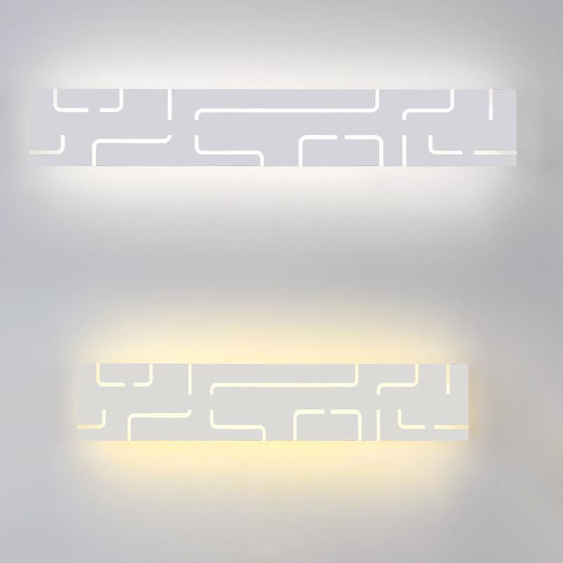 Wall Lamps 40/52cm Modern Led Mirror Light 14W 18W AC90-260V Mounted Lamp Bathroom Acrylic & Metal Sconce