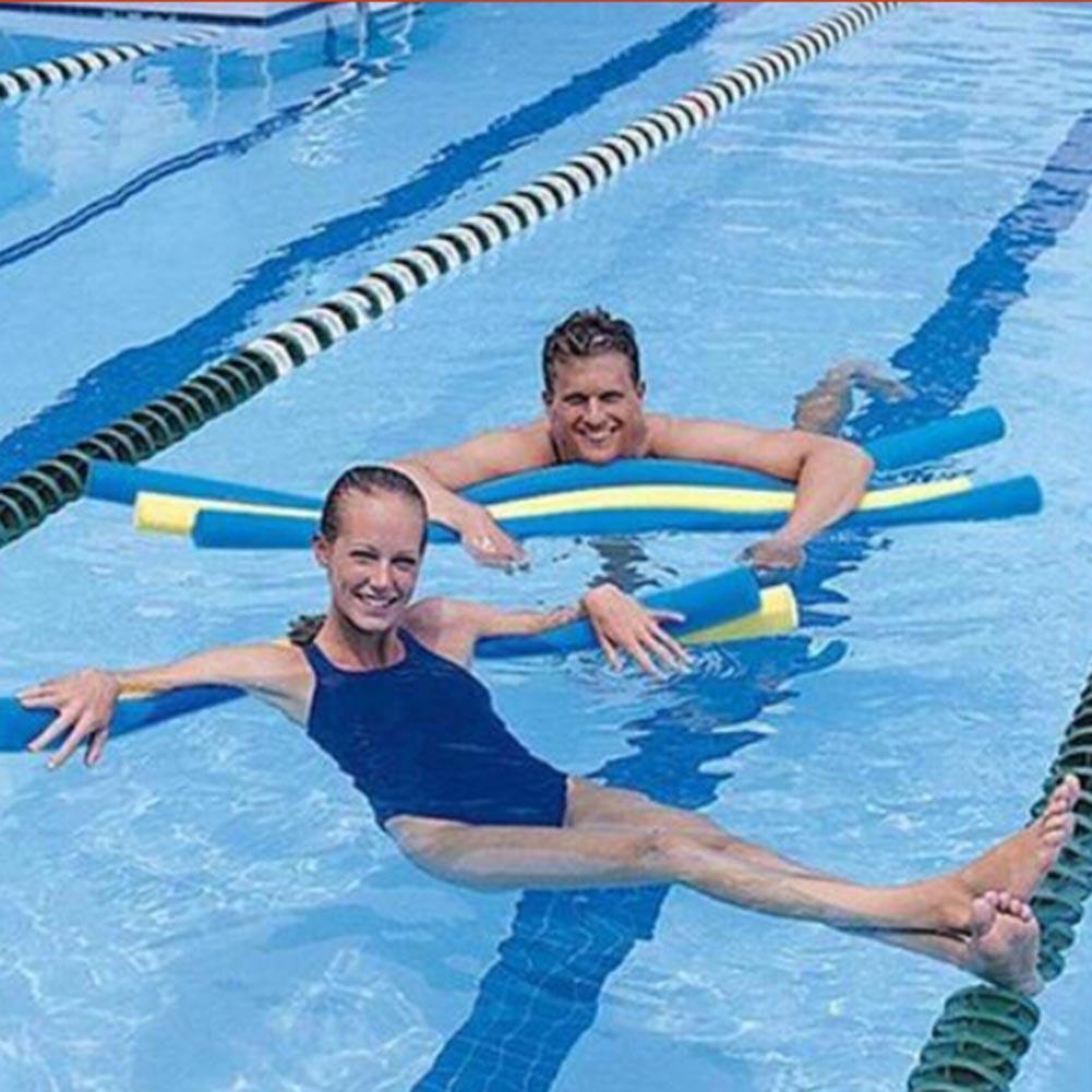 بركة إكسسوارات الشاطئ الكبار المحمولة مرنة EPE تعلم السباحة المعكرونة المياه تعويم المساعدات العائمة