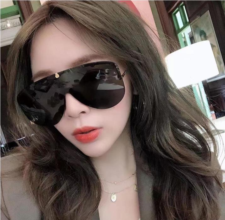 여성 인기 모델 G 네 선글라스 금속 빈티지 패션 스퀘어 프레임리스 UV 400 렌즈 패키지 클래식 스타일