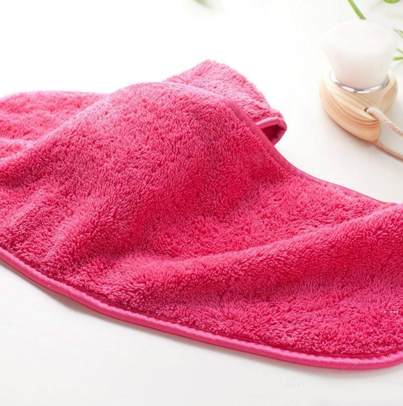 Mikrofiber Havlu Kadınlar Makyaj Remover Kullanımlık Havlu Yüz Temizleme Bezi Güzellik Aksesuarları HWE5986