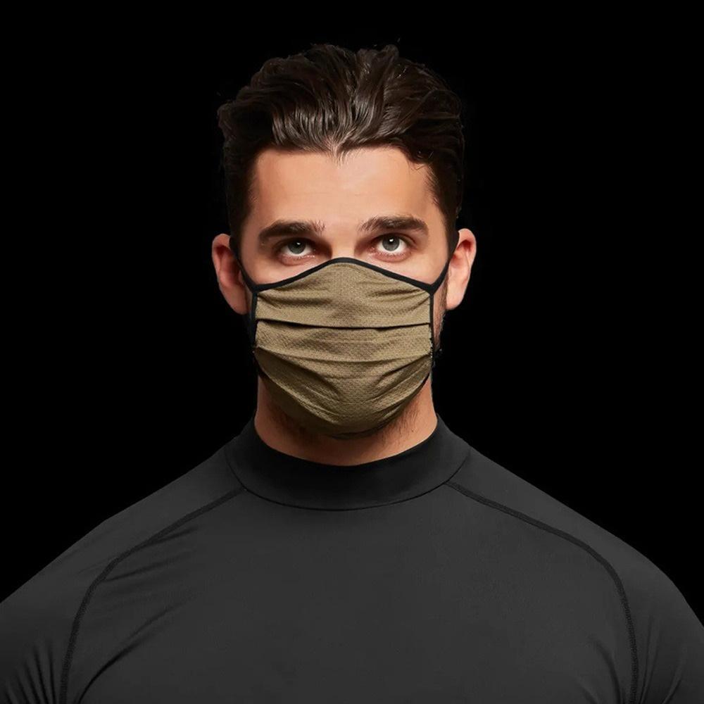 Maschera per la maschera per la maschera del cammuffamento Fashion Traspirante Prova di polvere Maschere riutilizzabili per uomo e donna Maschera da ciclismo 6 colori per scegliere