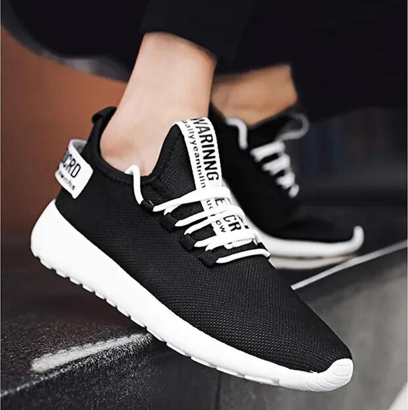 أحذية رجالي الاحذية أزياء الصيف أبيض أسود أصفر أحمر أربعة مواسم شبكة هي المدربين الجوف والتنفس الرياضية رياضة حذاء ثلاثة