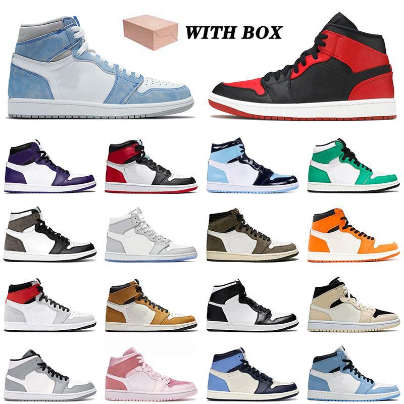 nike air jordan 1 1s retro off white shoes Chaussures de basketball 1 1S Dernière qualité Hyper Royal Mi-banni Jumpman avec boîte High Og Bio Hack Rose Quartz en plein air