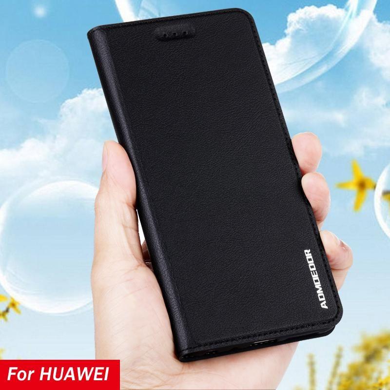 Huawei p Smart 2021 Z Plus Pro Case Leder Flip Cover für Nova 2 2i 3 3I 3E 4E 5T Back Cases Stand Handy