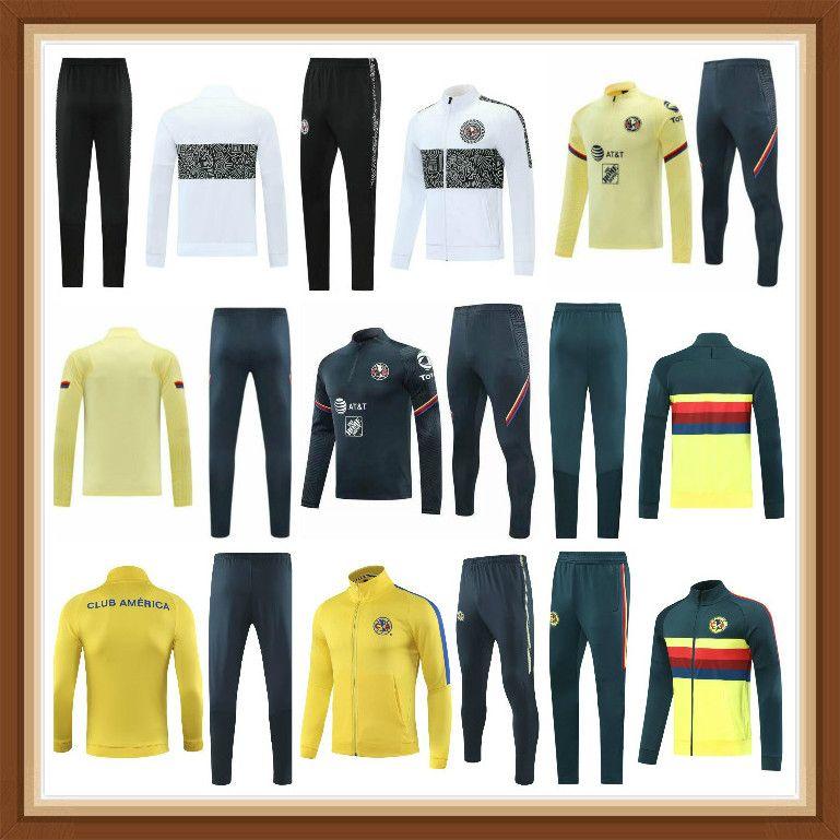 2021 Club America Soccer Decker Nuevo 2022 Camisetas de Fútbol Clubamérica Training Training Camiseta del الرياضة ارتداء يدجريس Guadal