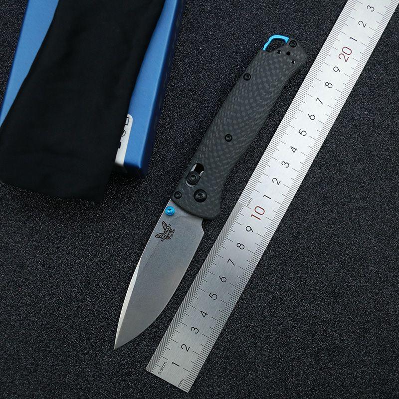 """Benchmade BM535-3 Bugout Axis Katlanır Bıçak 3.24 """"S90V Bıçak, Karbon Fiber Kolları Açık Kamp Avcılık Cep EDC BM535 535BK 535 S 550 940 810 553 551 C81 C10 Bıçaklar"""