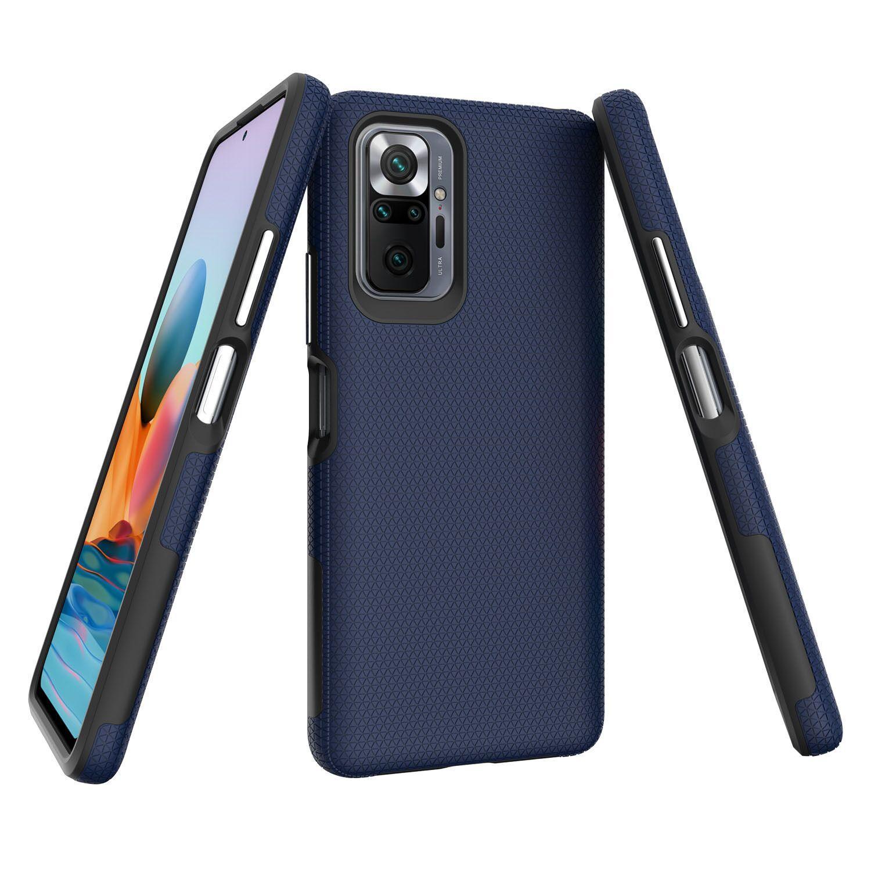 Cas de cas pour Xiaomi Redmi Note 10 10S Pro Max 9A 9A 9S MI Pocophone F1 Motorola Moto G30 G10 E7 Power 2021 Couverture