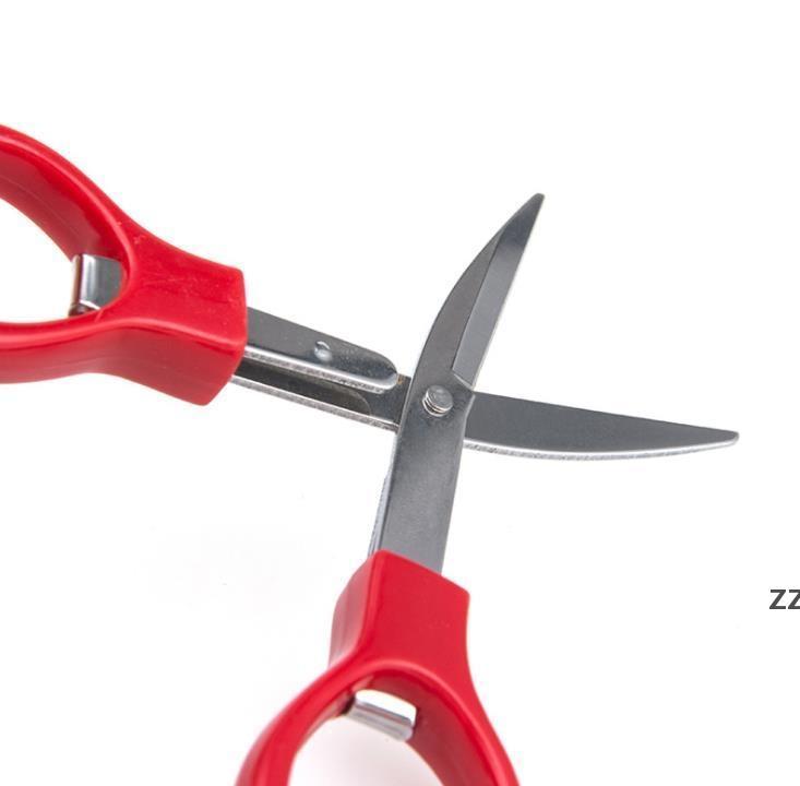 Складные ножницы из нержавеющей стали, рыбалка ножницы брелок для кемпинга мини-резак школьные канцелярские товары HWE8232