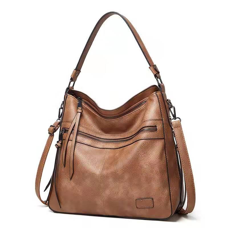 HBP Designer de bonne qualité Sacs à bandoulière de grande qualité Capacité en cuir PU Femmes fourre-tout Sacs à main pour femmes sacs à main
