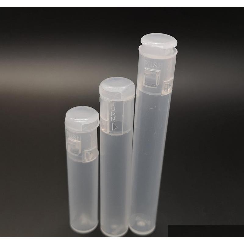 Otros accesorios de ECIG Cartucho transparente 05ML 1ML ATOMIQUE TUBO PLÁSTICO PLÁSTICO Paquete de Embalaje para cigarrillos E VAPE CARTS BZW5D D6GXI