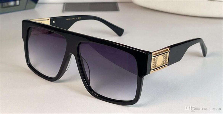Occhiali da sole moda grande piastra quadrata telaio trendy semplice design stile uomo e donna all'aperto UV400 occhiali protettivi 4505