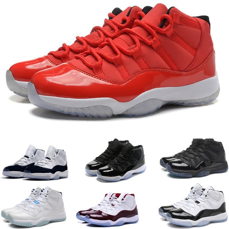 11 homens sapatos de basquete Mid Cut Boots Athletic Sport Sneakers