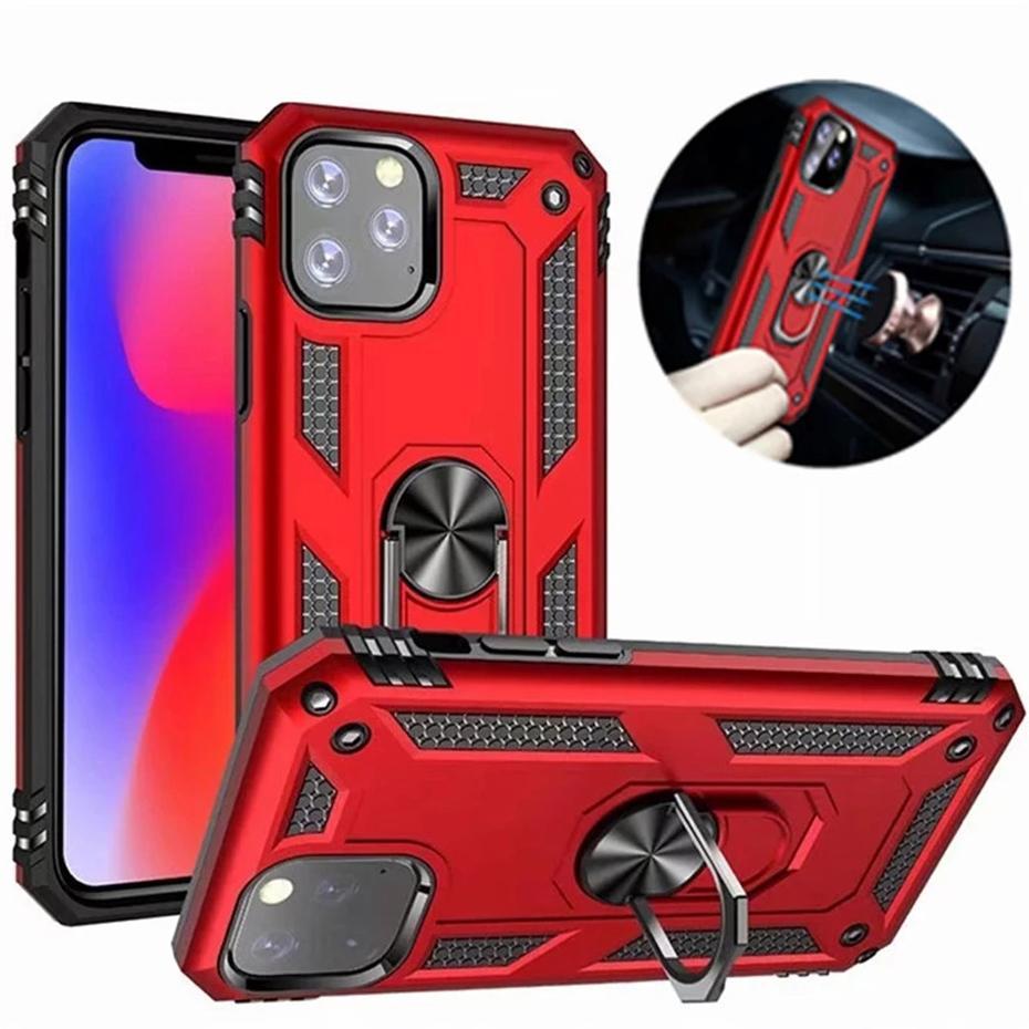 Per iPhone 13 mini prox custodie max con porta ad anello magnetico ARMORR ARMORR ARMOR ARMOR Coperchio 5S SE 6S 7 8 Plus Cassa del telefono