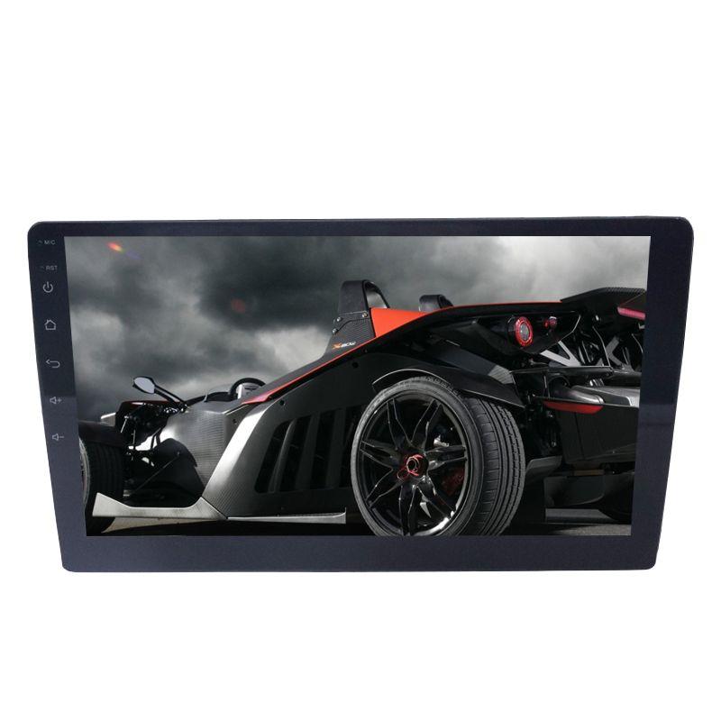 Carro GPS 9 Navegador Bluetooth chamando e invertendo recursos com tela de toque fina de câmera HD