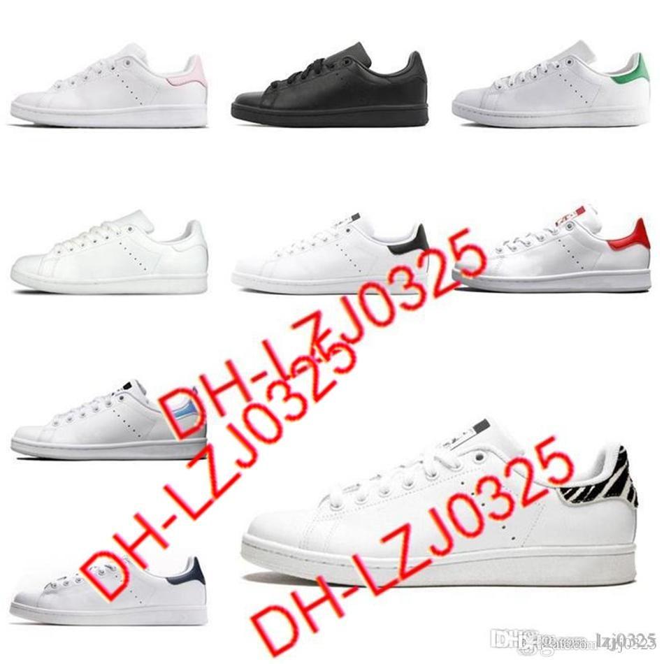 Botas para mujer Hombres Zapatos de moda Stan Smith Sneakers Cuero Classic Flats Zapato casual Tamaño 36-45 DHX-H26 ABN14