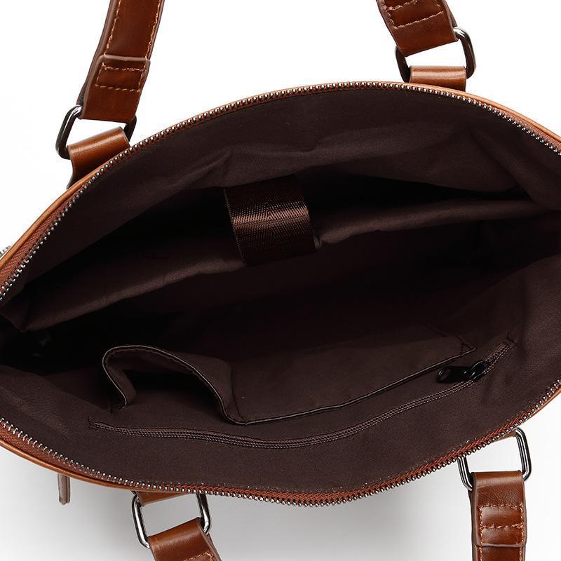 Evrak Çantaları Vintage Moda Kadın Çanta Rahat Omuz Messenger Çanta Tasarım A4 Evrak Çantası Erkekler Laptop Çantası Bolso Hombre Kesesi Homme1 TY11