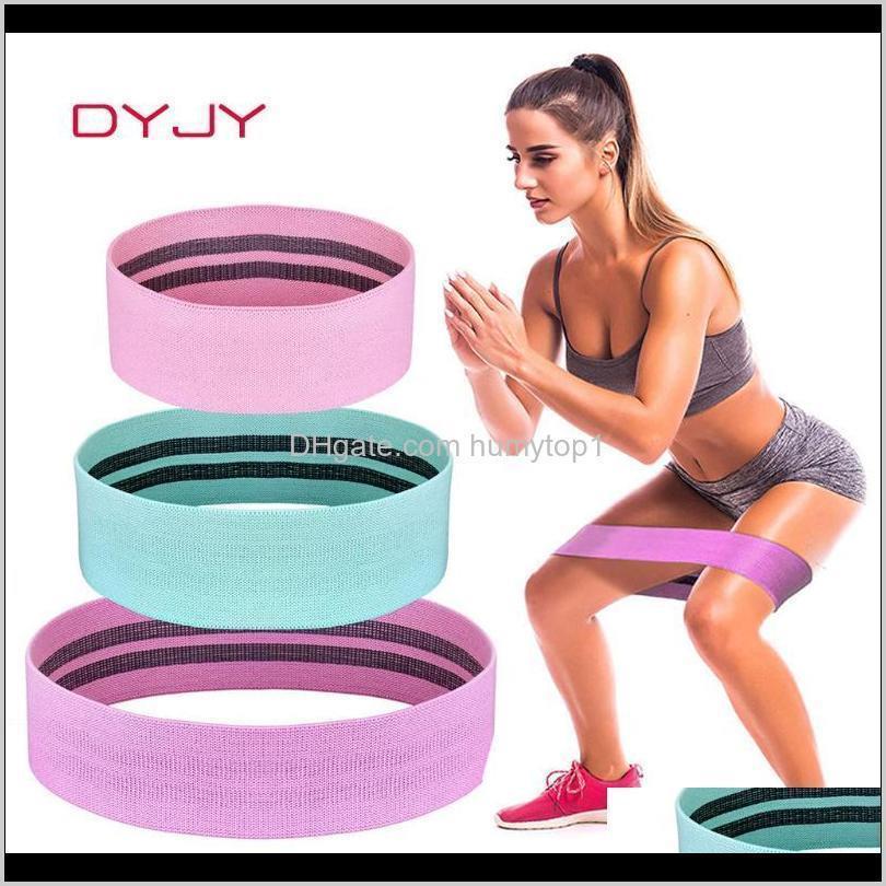 Диджи эластичные пинетки полосы бедра круговой цикл сопротивления полоса набор женских ног бедра ворсит тренажерный зал Фитнес Crossfit Оборудование для тренировки NMV81 IRV0A