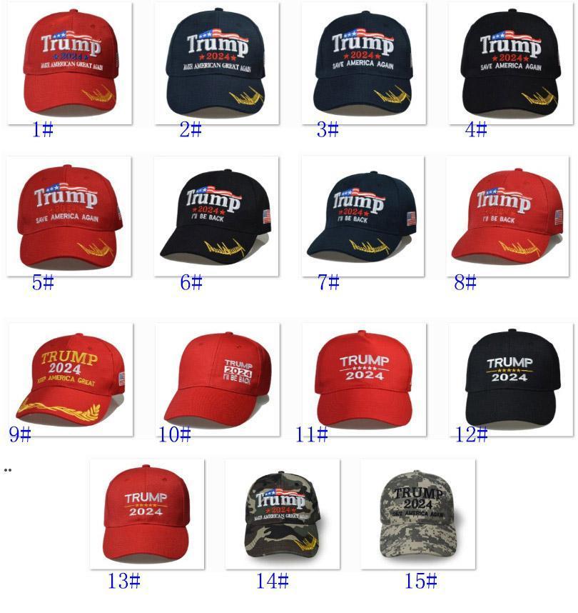Trump camuflaje sombrero de béisbol ahorre el presidente América triunfa a Great U.S. 2024 Electoral Cap DWA7010