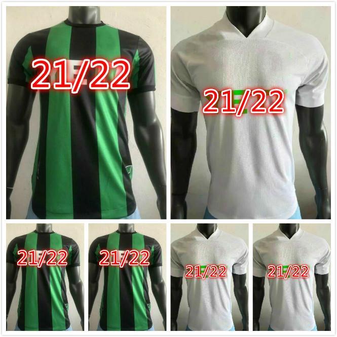 Oyuncu Sürümü 2021 2022 Cecilio Austin FC Futbol Formaları Yüzük Besler Ev Kiti Siyah Yeşil 21 22 Futbol Gömlek Camisetas Fútbol Maillot De Ayak