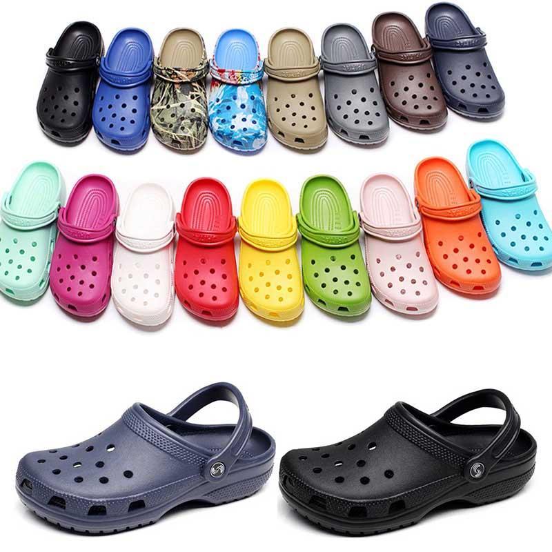 36-47 캐주얼 해변 오염 방수 신발에 패션 슬립 방수 신발 남성 클래식 간호 Clog 병원 여성 슬리퍼 작업 의료 샌들 121