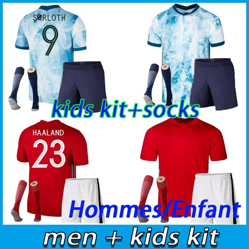 الرجال والاطفال كيت 21 22 بيرجر حالات Ødegaard كرة القدم الفانيلة مجموعة 2021 2022 SØRLOTH CAMISETAS دي Fútbol National Teamfootball قميص مجموعات Noruega زي الأعلى تايلاند