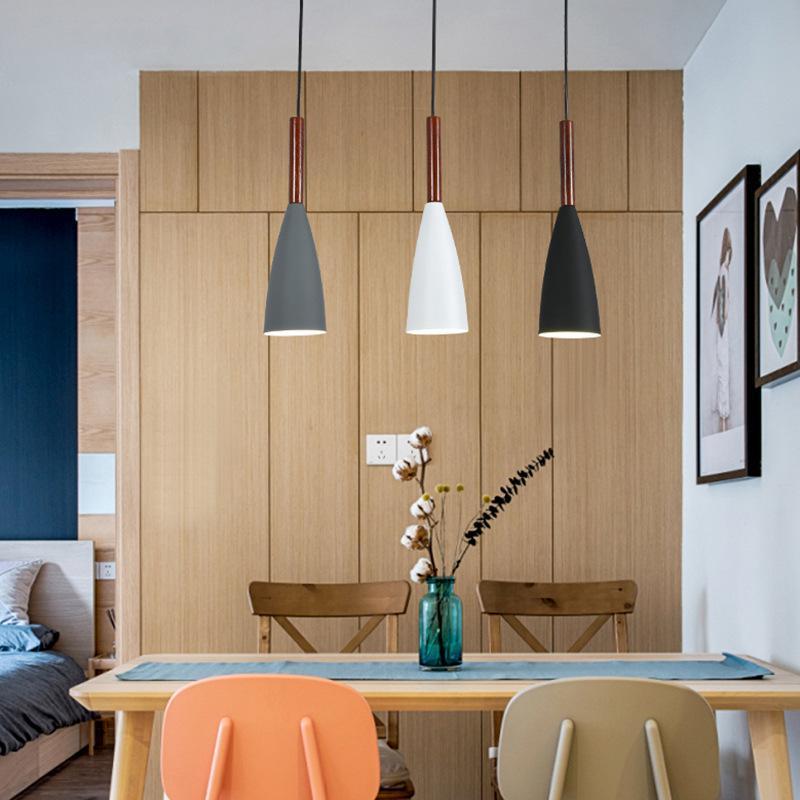 Lamparas 드 Techo Colgante Moderna 욕실 정착물 노르딕 장식 홈 환기 램프 샹들리에 샹들리에