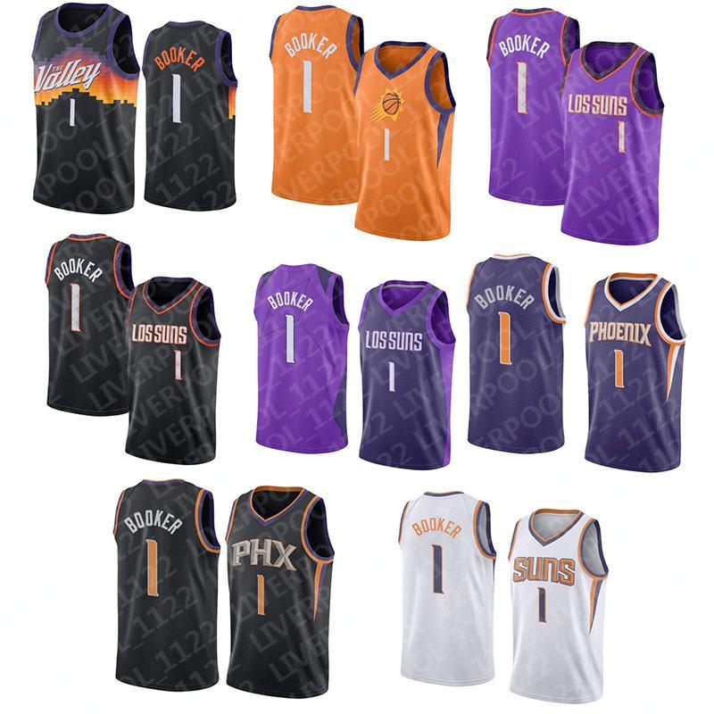 NCAA Stephen 30 Curry Hommes College Basketball Jerseys Deandre 22 Ayton Devin 1 Booker Steve 13 Nash Charles 34 Barkley 2021