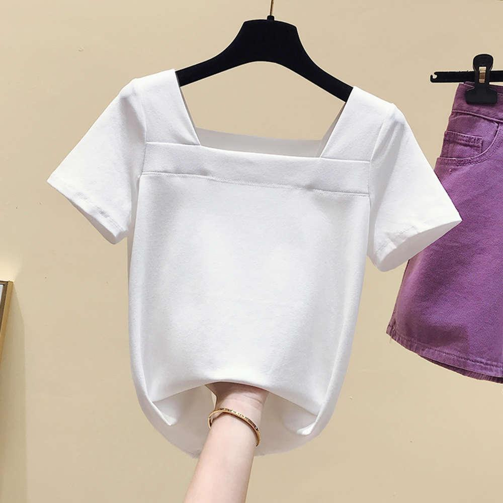 t Shirts Shirtst Clothingshort Women's Summer Red Half Sleeve Tight Collarbone French Square Neck