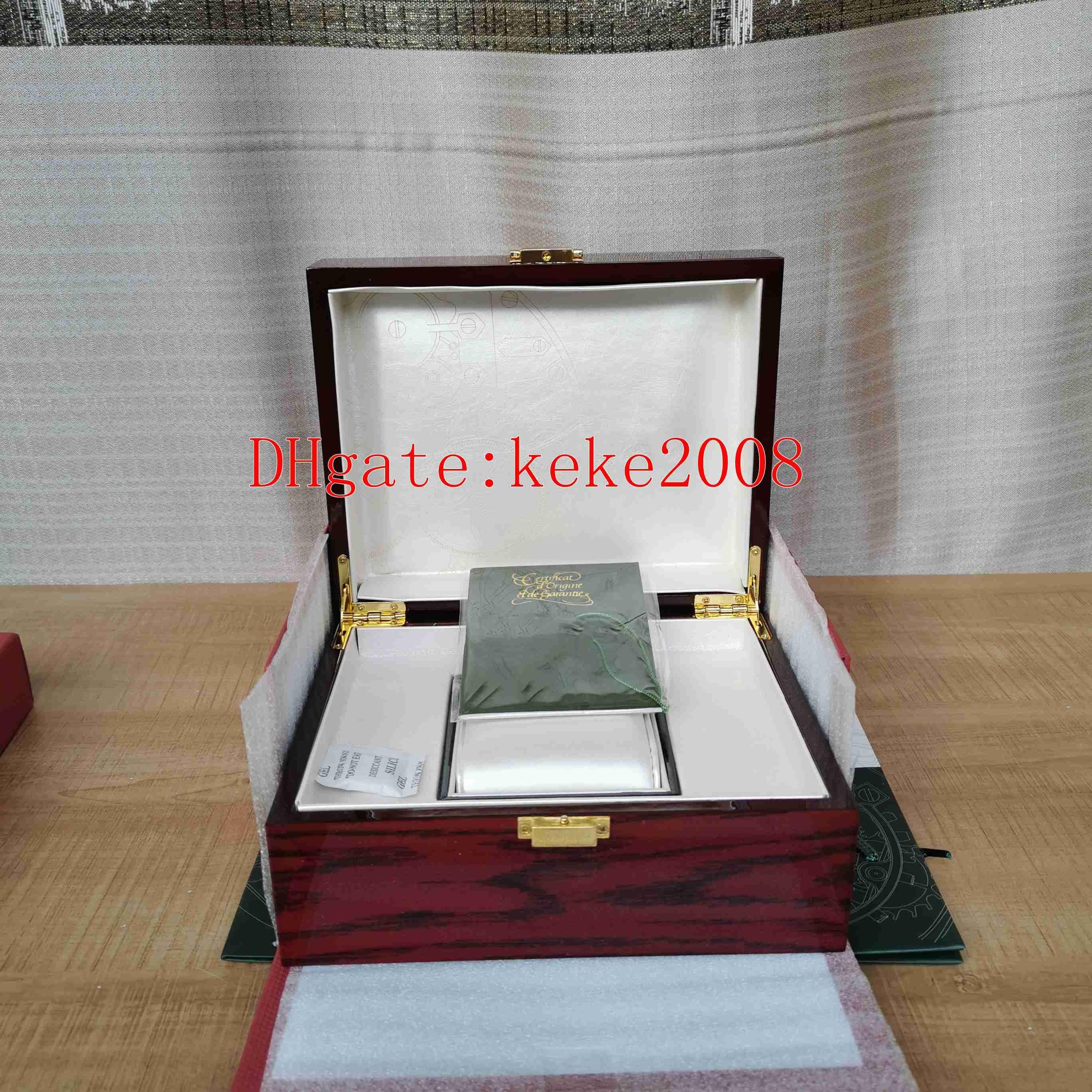 Note-Bracelet Original Box Papers Festival de bois Boîtes-cadeaux Sac à main Utilisez 15400 15710 15703 26703 26470 Swiss 3120 3126 Montres