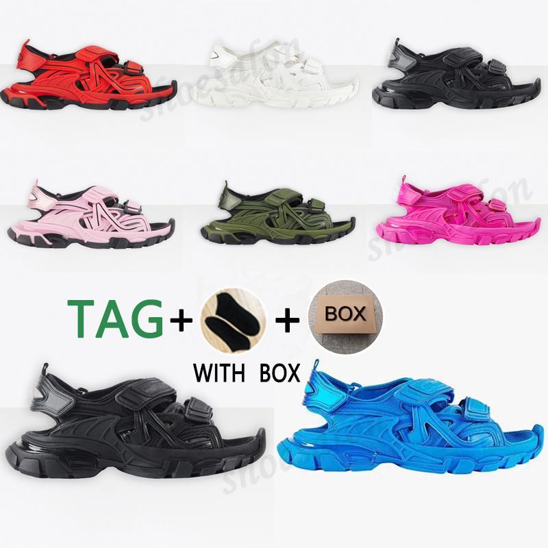 2021 Parça Sandalet 3.0 Terlik Ayakkabı Pembe Beyaz Erkekler Kadınlar Slayt Sandalet Spor Platformu Aşınmaya Dayanıklı Kadın Üçlü S Snearkers Ayakkabı