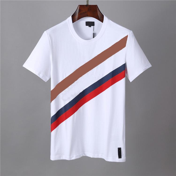 Erkek T Shirt Yuvarlak Boyun Tees Katı Renk Yaz Pamuk Mektup Baskı Gömlek Kısa Kollu Erkekler Ve Kadınlar Yarım Kollu Çoklu Renk Nefes Hızlı Kuru