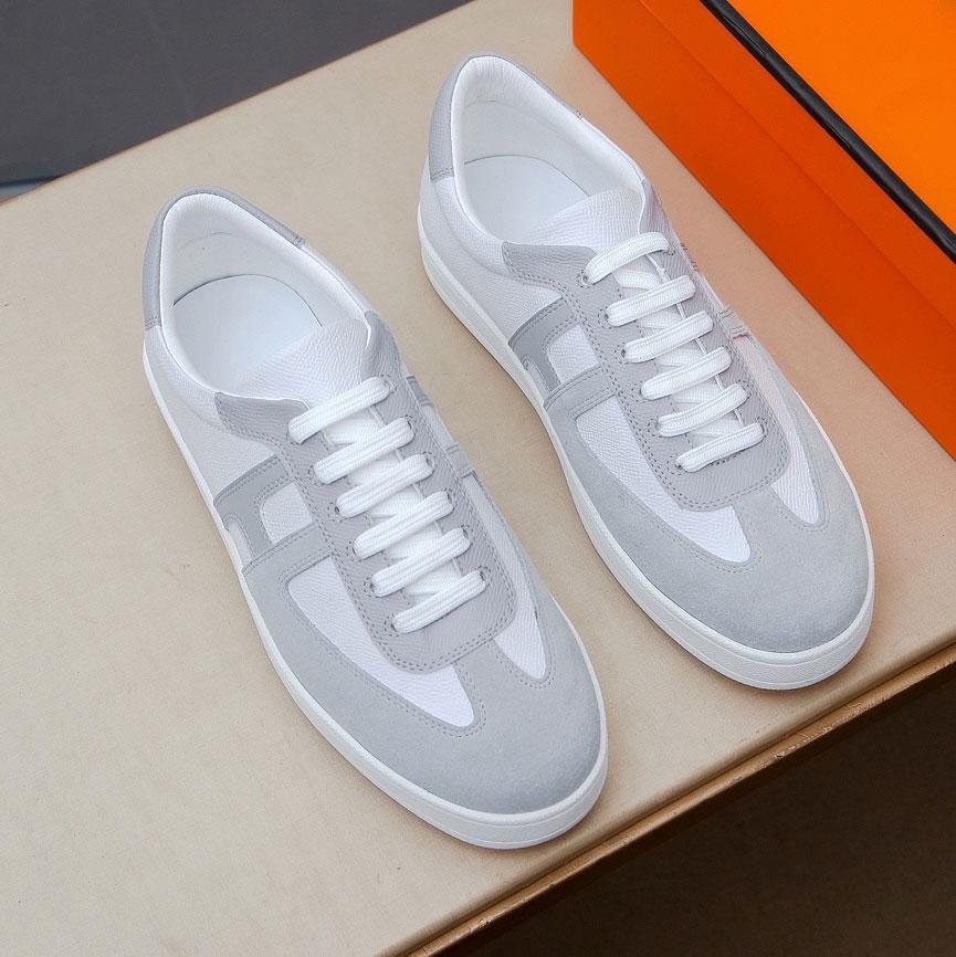 파티 플랫폼 디자이너 캐주얼 신발 블랙 가죽 스포츠 남자 패션 반사 흰색 평면 스니커즈 40-45
