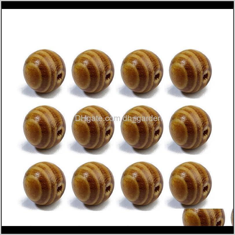 Xinyao 100Pcs 68101214Mm Round Natural Pine Wooden Bead Loose Unfinished Wood Beads For Diy Jewelry Making Houten Kralen Fwswb Nzgsx