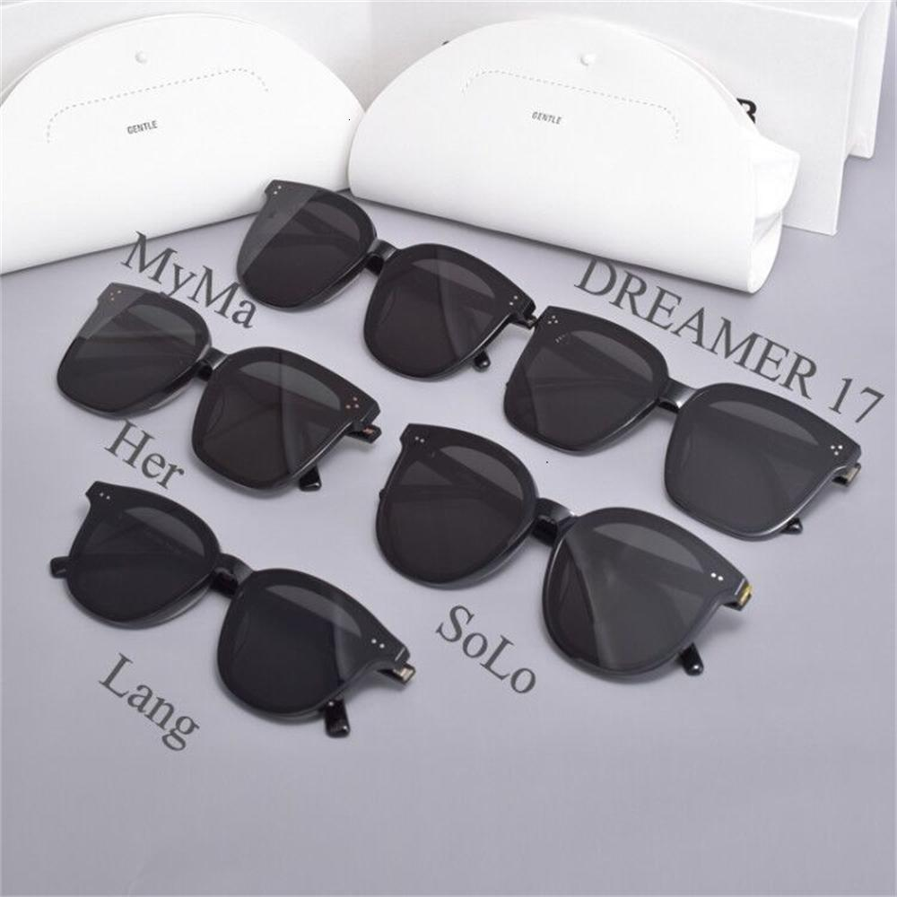 Gafas de sol de moda 2021 Estilo suave Su Myma Solo Lang Dreamer 17acetate UV400 LEN LEN para mujeres con estuche