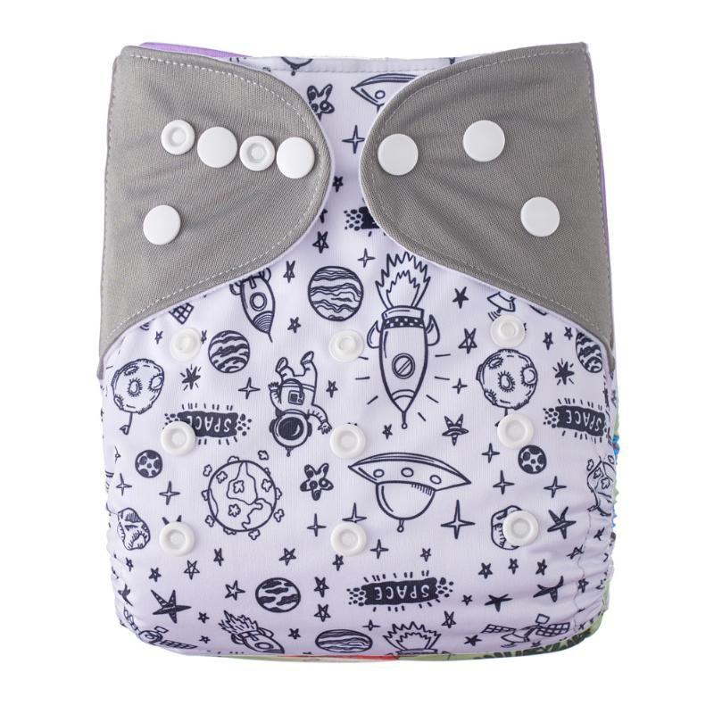 Pañales de tela Pañal de bebé Cambio de incontinencia impermeable Pantalones para la cubierta reutilizable de reputación Ajustable Chirldren Nappy