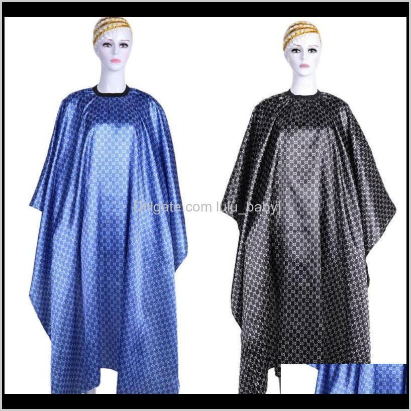 4Colors PRO Coiffure Cape Wrap Robe de robe Way Easy Toile Salon Coiffure Coiffure Coiffeur Protecteur de coiffure Outils Ubi47 Zifu3