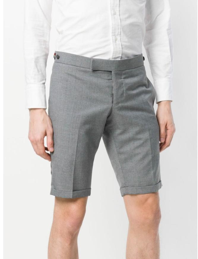 2021 Sommer Herrenreine Baumwolle Business Shorts Anzugs-Shorts Seite gewebt Wide Lose Casual Five-Point-Hosen
