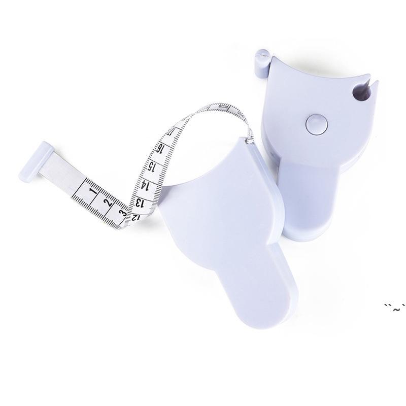 1.5m Fitness Accurati Accurati Body Fat Caliper Nastro Misure Fitness Negatore speciale Righello Tastri di misura flessibili con manico OWA4791