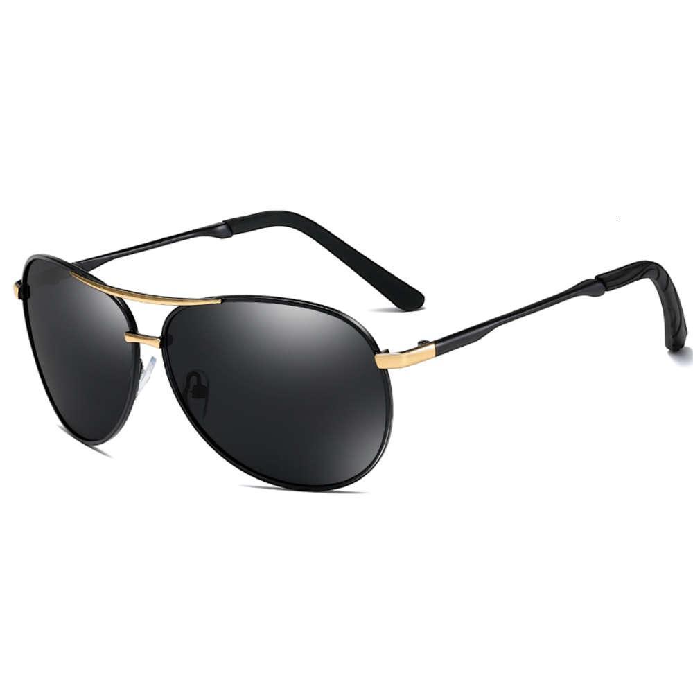Clássico polarizado marca de sunglass digner homens metais dirigindo óculos de sol macho uv400 shad gafas de sol hombre