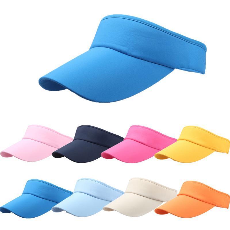 STINGY BRIM HATS 2021 Мода Регулируемые Мужчины Женщины Летние Спорт Оголовье Классический Солнце Визуализация Шляпа Шапка Женский 3,4