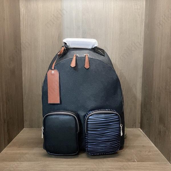 Moda Unisex Backpack Viagem Ao Ar Livre Top Saco Classic Letter Logo Design Grande Capacidade 30cm Bolsa de Alta Qualidade