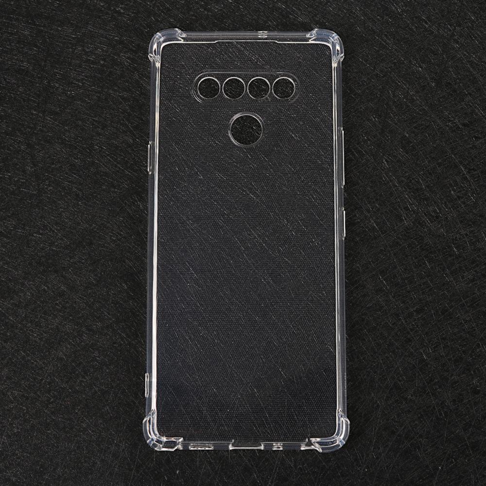 LG K22プラスK52 STYLO 7 K61 Q51耐衝撃カバー透明TPUエアバッグ携帯電話ケース