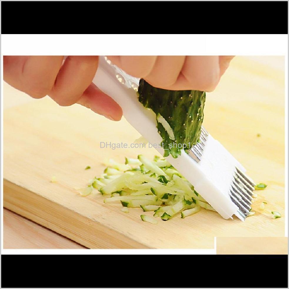 Tools Kitchen, Dining Bar Home & Garden Drop Delivery 2021 Stainless Steel Multi-Function Peeler Grater Vegetable Fruit Peeling Cutter Slicer